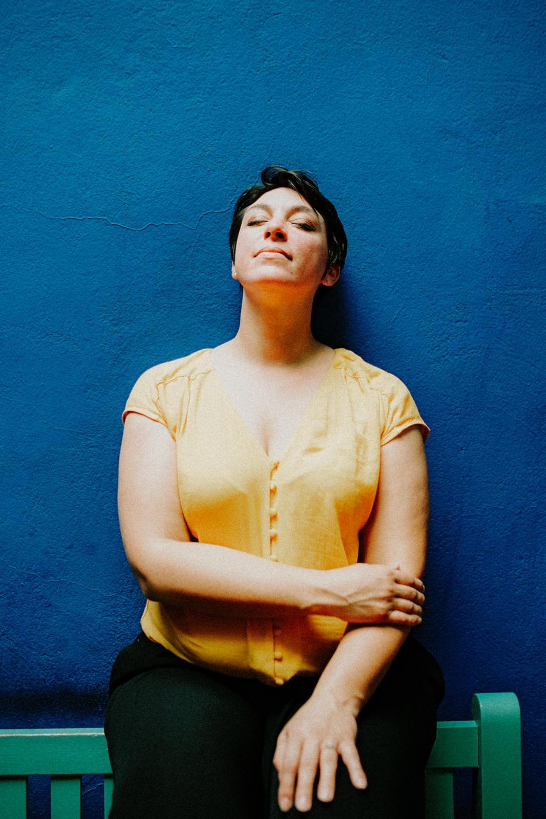 Nicole Gevrey, créatrice du podcast Même pas peur, pour gagner en sérénité et liberté