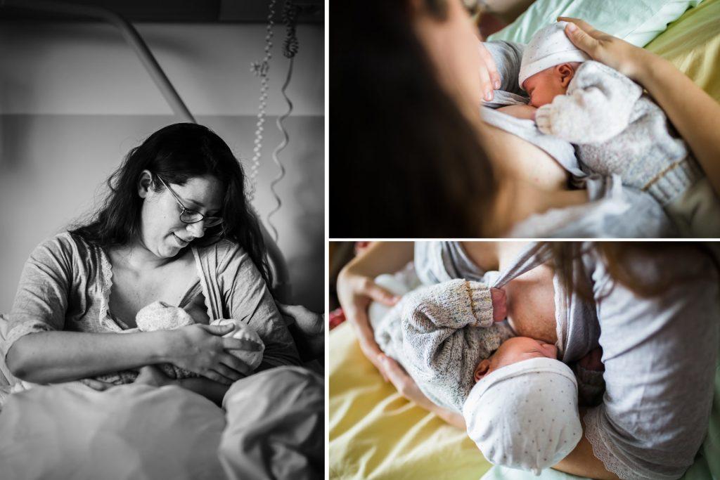 photos allaitement à la maternité