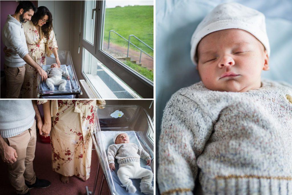 3 photos à la maternité, reportage photo de Nicole Gevrey