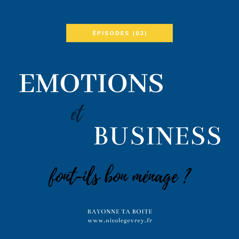 (02) Emotions & business font-ils bon ménage