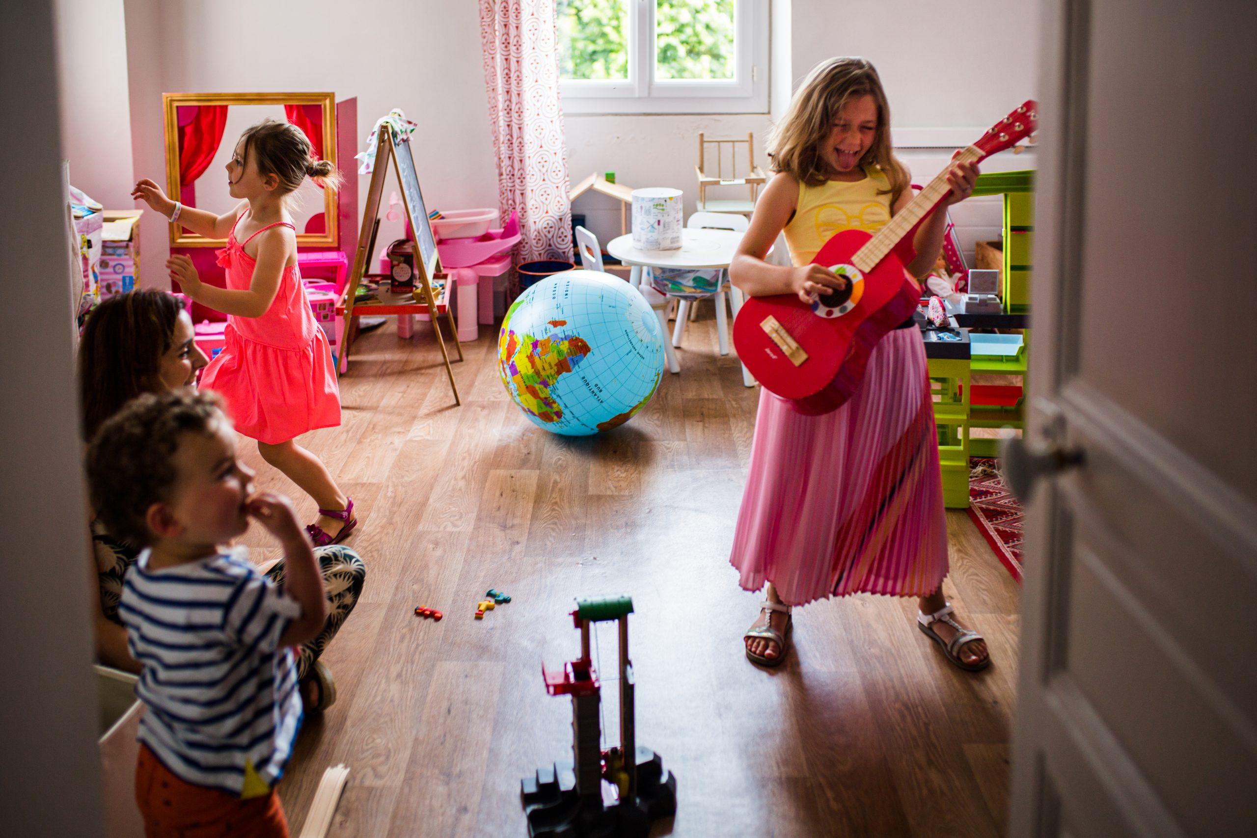 photo du quotidien d'une famille, reportage photo de Nicole Gevrey